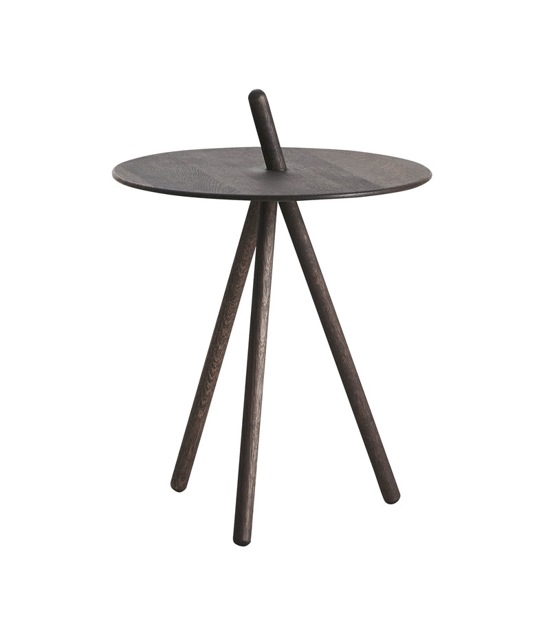 Come Here Side Table, Smoked Oak – Woud A/s With Smoked Oak Side Tables (Image 7 of 40)
