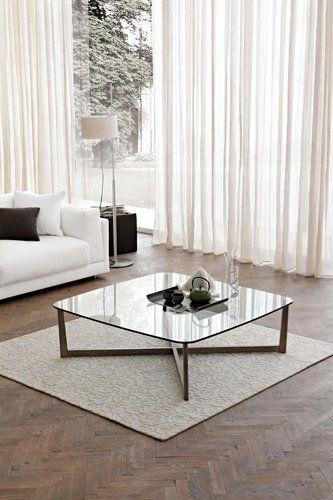 Contemporary Coffee Table / Glass – Casablanca (View 22 of 40)