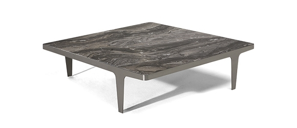 Contemporary Design Coffee Tables | Natuzzi Italia In Iron Wood Coffee Tables With Wheels (View 19 of 40)