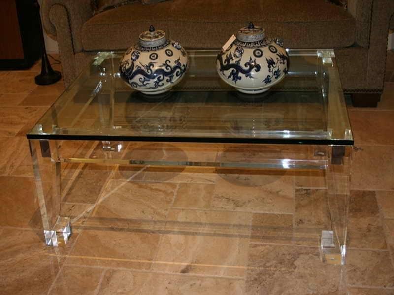 Cool Furniture Custom Acrylic Coffee Table Modern Acrylic Coffee Within Modern Acrylic Coffee Tables (Image 13 of 40)