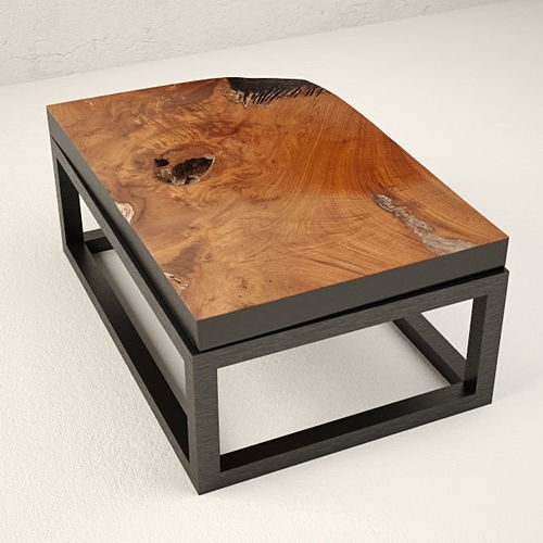 Country 3D Teak Coffee Table | Cgtrader In Large Teak Coffee Tables (View 27 of 40)