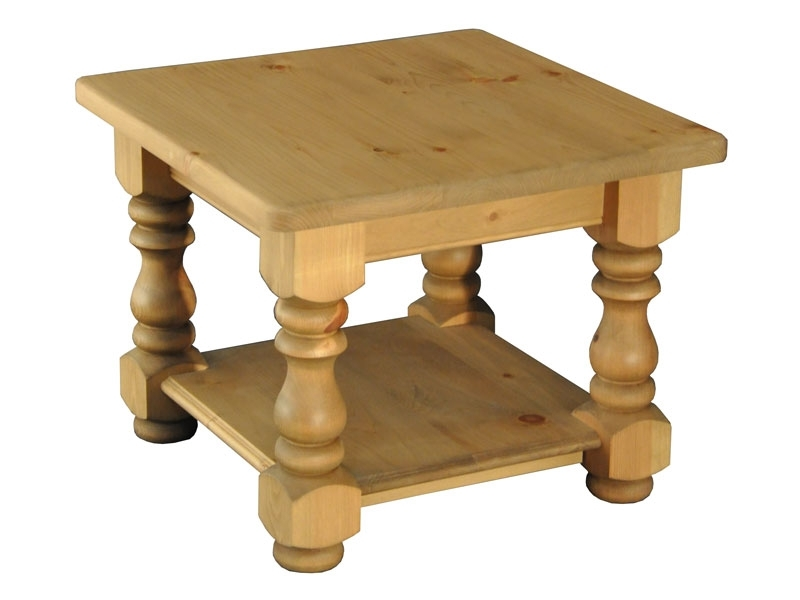 Country Living 2 X 2 Potboard Coffee Table – Lpc Furniture Pertaining To Natural Pine Coffee Tables (Photo 37 of 40)