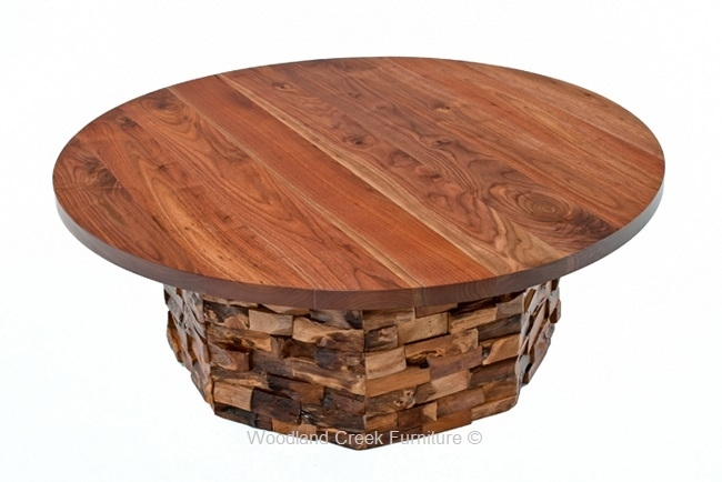 Craftsman Coffee Table, Rustic Wood Cocktail Table, Custom Made For Craftsman Cocktail Tables (Image 17 of 40)
