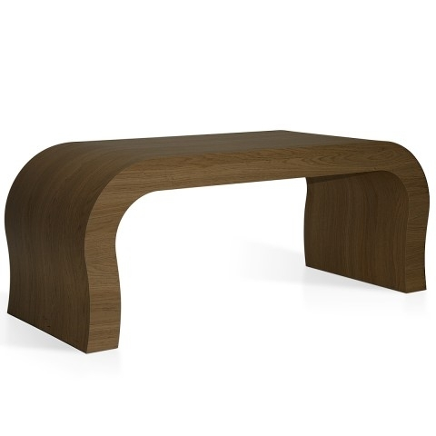 Curved Coffee Table Oak – Atlantic Shopping Regarding Contemporary Curves Coffee Tables (View 15 of 40)