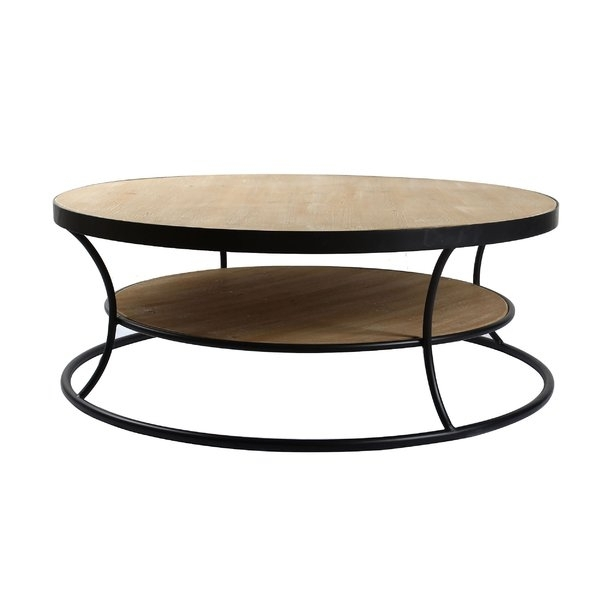 Curved Coffee Table | Wayfair.co (View 12 of 40)