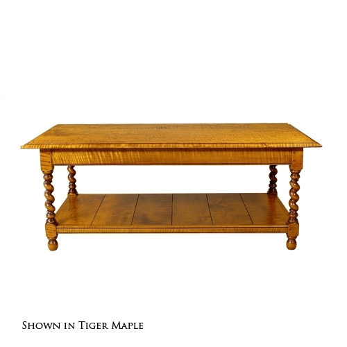 D.r.dimes Barley Twist Coffee Table – : Occasional Tables Coffee Tables Pertaining To Barley Twist Coffee Tables (Photo 33 of 40)
