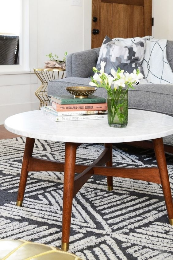 Daily Find | Pinterest | Mid Century Coffee Table, Mid Century And Inside Mid Century Modern Marble Coffee Tables (Photo 19 of 40)