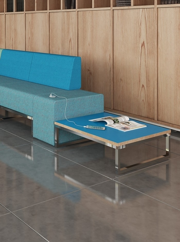 Dams Nera Square Coffee Table Nera S Table | 121 Office Furniture Inside Modular Coffee Tables (View 29 of 40)