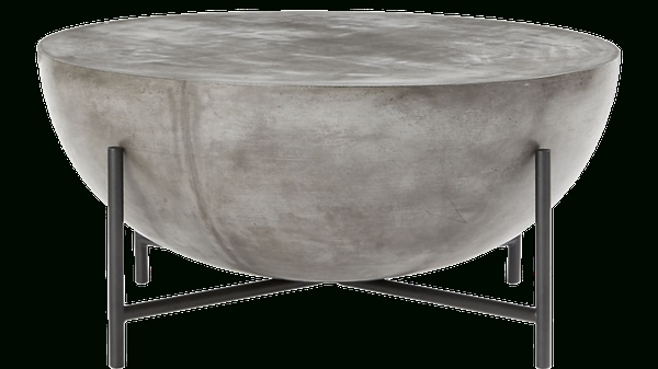 Darbuka Black Coffee Table | Decorist In Darbuka Brass Coffee Tables (Image 24 of 40)