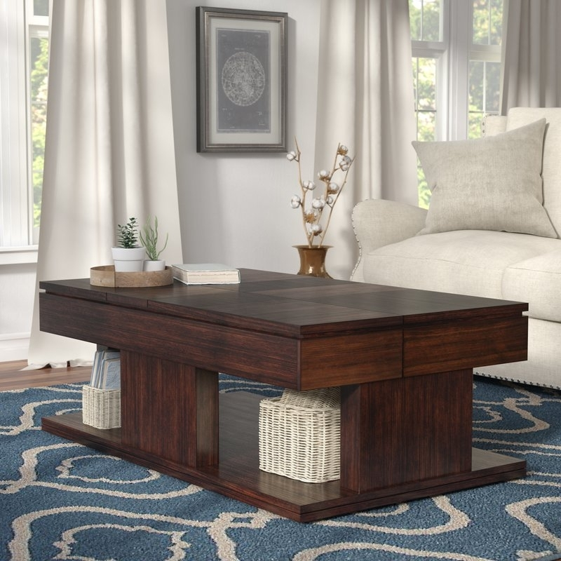 Darby Home Co Janene Lift Top Coffee Table | Birch Lane In Seneca Lift Top Cocktail Tables (View 15 of 40)