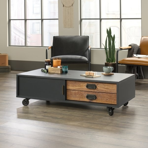 Dark Brown Coffee Table | Wayfair Throughout Abby Cocktail Tables (View 30 of 40)