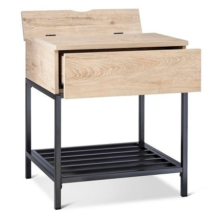 Darley End Table – Threshold™ : Target | Bedside Table | Pinterest Within Grant Lift Top Cocktail Tables With Casters (Photo 32 of 40)