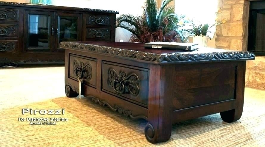 Decoration: Coffee Table Good Rustic Round Tables On Style Spanish Pertaining To Spanish Coffee Tables (View 7 of 40)