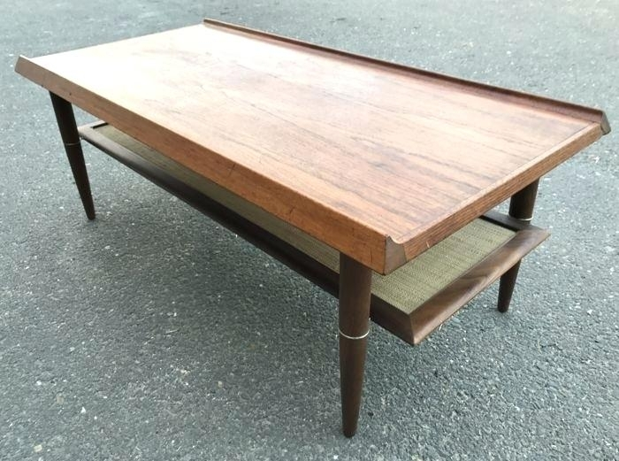 Decoration: Large Teak Outdoor Coffee Table Wood Unknown Designer Regarding Large Teak Coffee Tables (View 20 of 40)