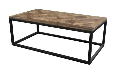 Decoration: Parquet Top Coffee Table From (Image 10 of 40)