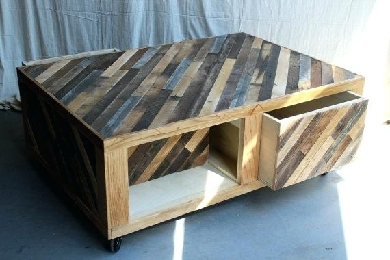 Decoration: Rustic Coffee Table With Storage Modern Tables Round With Modern Rustic Coffee Tables (Image 9 of 40)