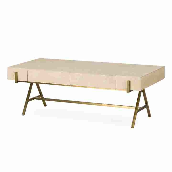 Delilah Coffee Table | Curated Kravet With Regard To Joni Brass And Wood Coffee Tables (Image 21 of 40)