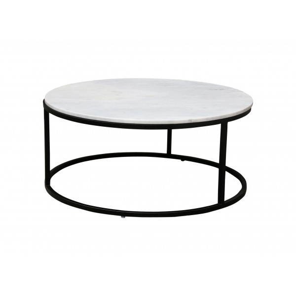 Denver Marble Coffee Table – White For Marble Coffee Tables (Image 9 of 40)