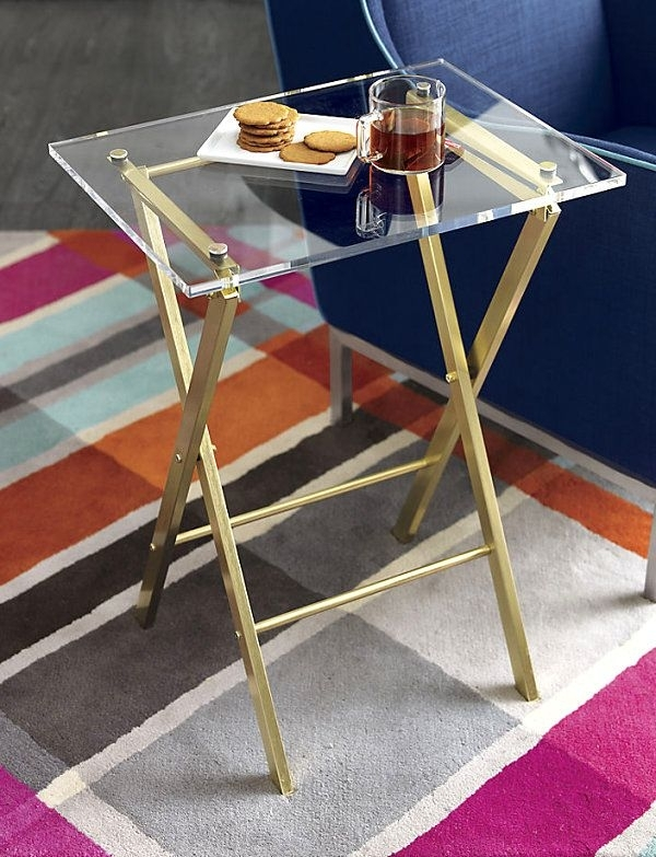 Design Trend: Brass And Glass | For The Home | Pinterest | Folding With Acrylic Glass And Brass Coffee Tables (View 20 of 40)