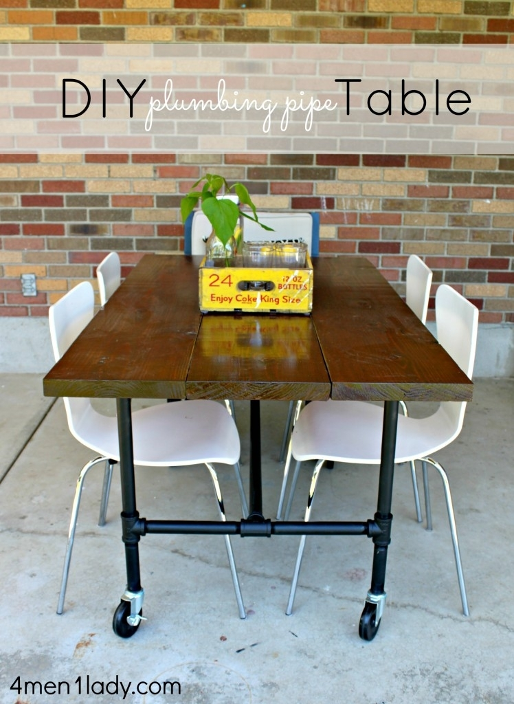Diy Plumbing Pipe Table Tutorial (Image 15 of 40)