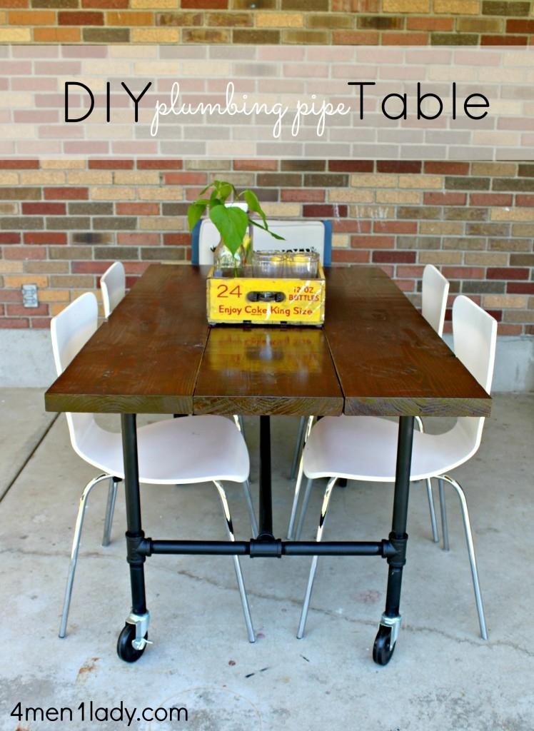 Diy Plumbing Pipe Table Tutorial (View 23 of 40)
