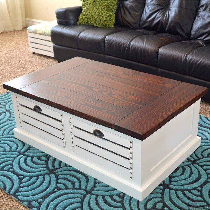 Diy Side Table Fresh 22 Coffee Table Woodworking Projects Worth Inside Fresh Cut Side Tables (Image 11 of 40)