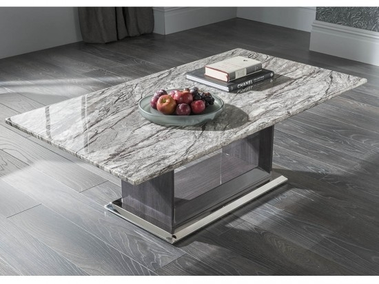 Donatella Raphael Grey Marble Coffee Table Dta 007 | Morale Home Pertaining To Marble Coffee Tables (Image 10 of 40)