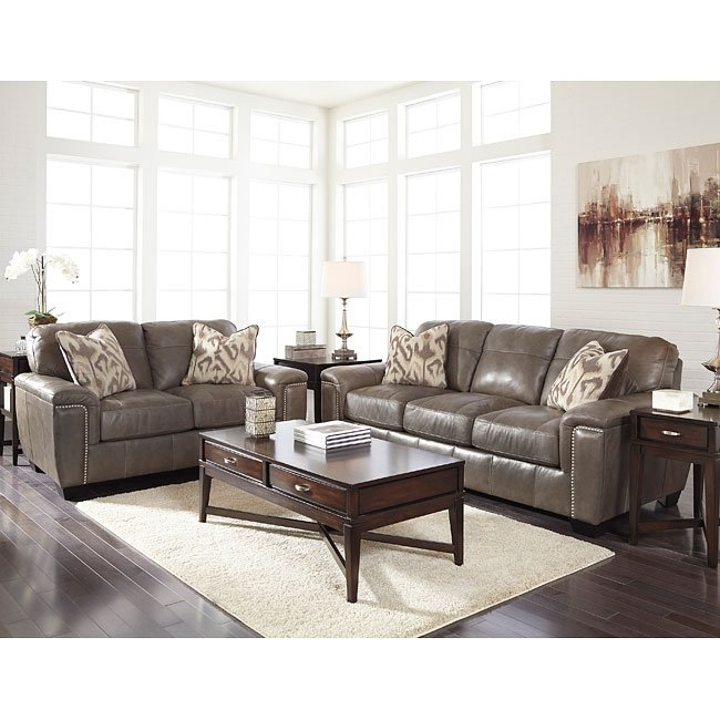 Donnell Granite Living Room Set Signature Design | Furniture Cart Throughout Donnell Coffee Tables (Image 19 of 40)