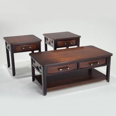 Dream Weaver Cocktail Table Set | Pinterest | Living Room Furniture With Regard To Weaver Dark Rectangle Cocktail Tables (View 4 of 40)