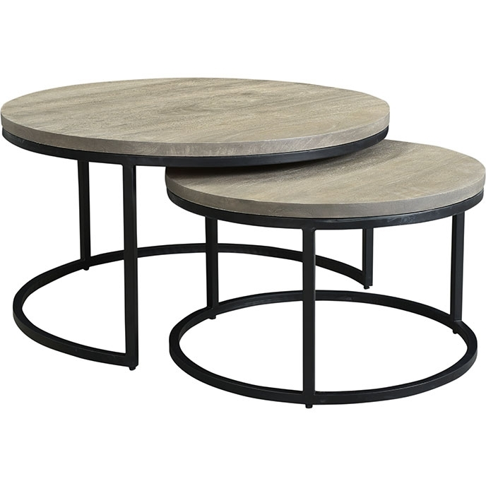 Drey Round Nesting Coffee Tables (Set Of 2)Moe's Home With Regard To Set Of Nesting Coffee Tables (View 26 of 40)