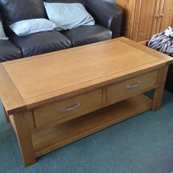 Dunelm Mill Coffee Table | In Blandford Forum, Dorset | Gumtree Pertaining To Mill Coffee Tables (Photo 8 of 40)