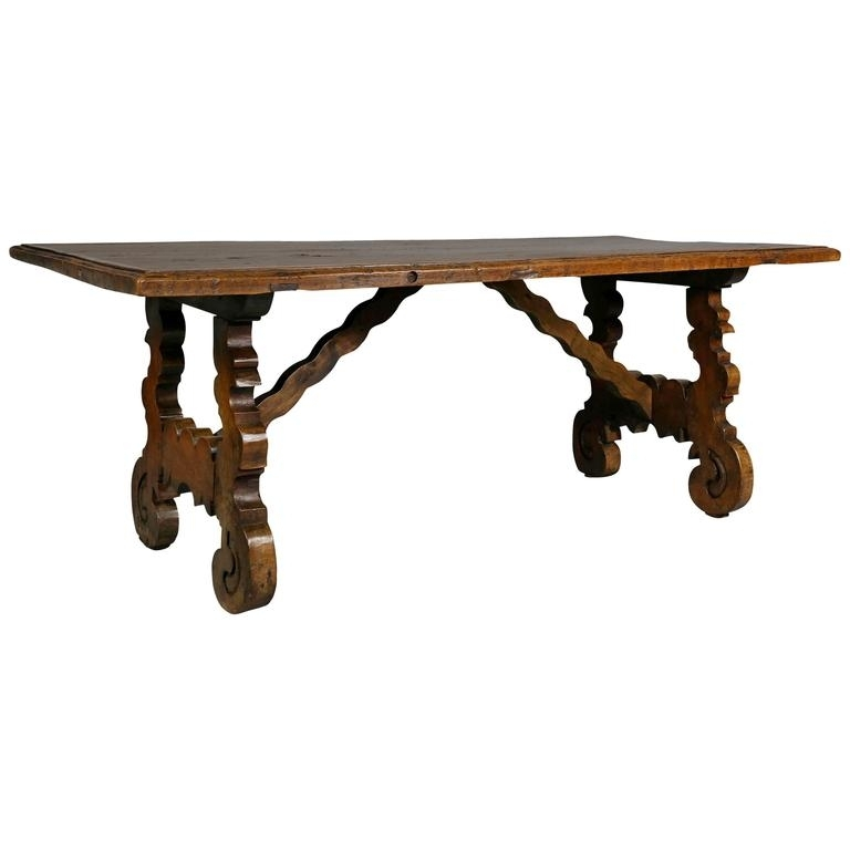 Early 20Thc Spanish Coffee Table In Great Surface For Sale At 1Stdibs Throughout Spanish Coffee Tables (View 24 of 40)