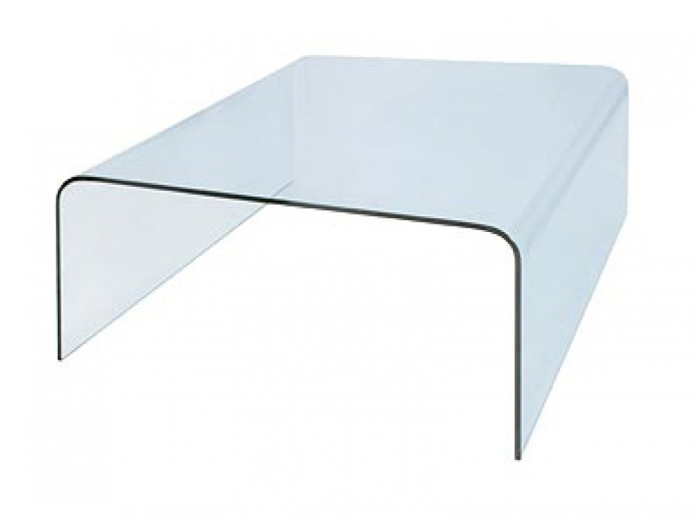 Elegant Glass Square Coffee Table Nice Square Glass Coffee Table For Square Waterfall Coffee Tables (Photo 24 of 40)