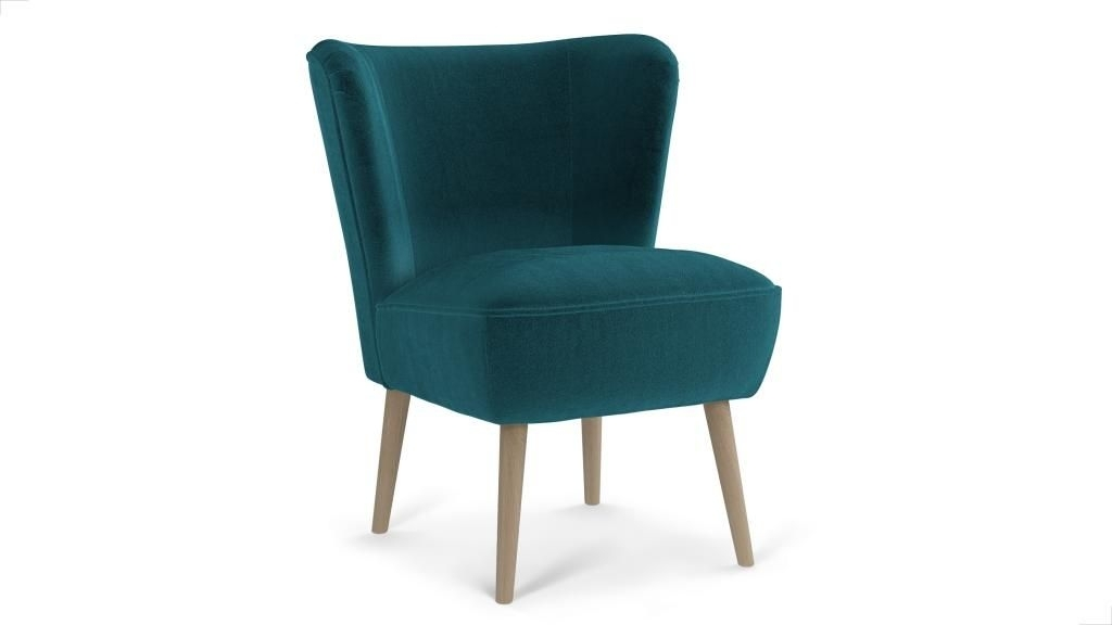 Emilia Armchair Soft Velvet – Mallard | Lounge | Pinterest For Mallard Cocktail Tables (View 21 of 40)