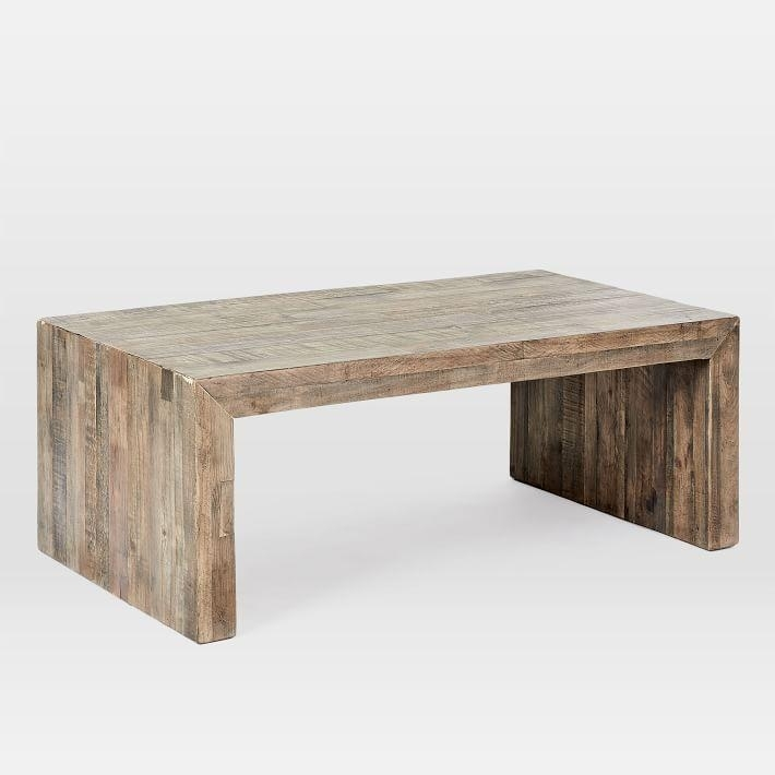 Emmerson Reclaimed Wood Coffee Table For Reclaimed Pine Coffee Tables (Image 10 of 40)