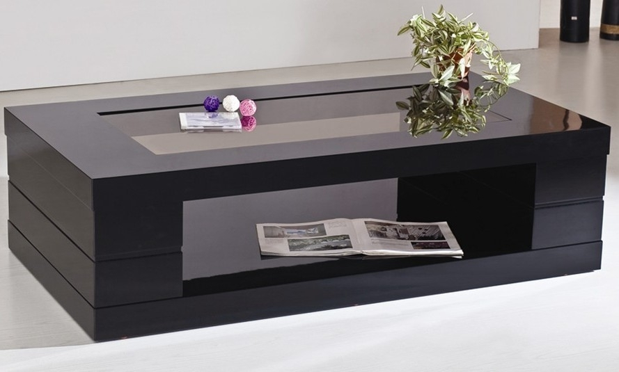 Enchanting Black Coffee Table With Fine Modern Black Coffee Table For Darbuka Black Coffee Tables (View 37 of 40)