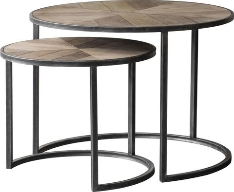 Entranching Nested Coffee Table In Designer Tables Online Round Regarding Set Of Nesting Coffee Tables (Photo 19 of 40)