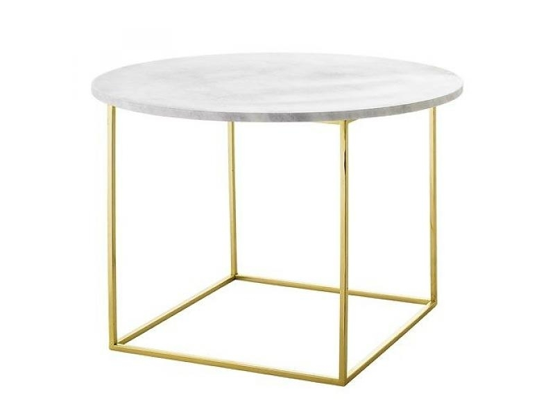 Eva Marble Coffee Table Within Iron Marble Coffee Tables (Image 11 of 40)