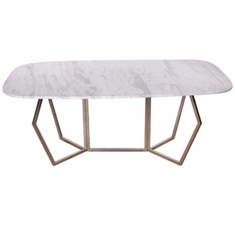 Everly Quinn Chancery Ultra Modern Marble Coffee Table | Wayfair In Modern Marble Iron Coffee Tables (Image 14 of 40)