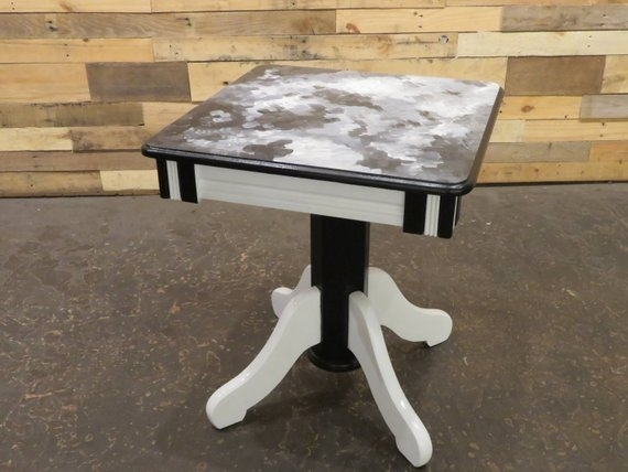 Expressionist Deco Table | Etsy With Regard To Expressionist Coffee Tables (Photo 4 of 40)