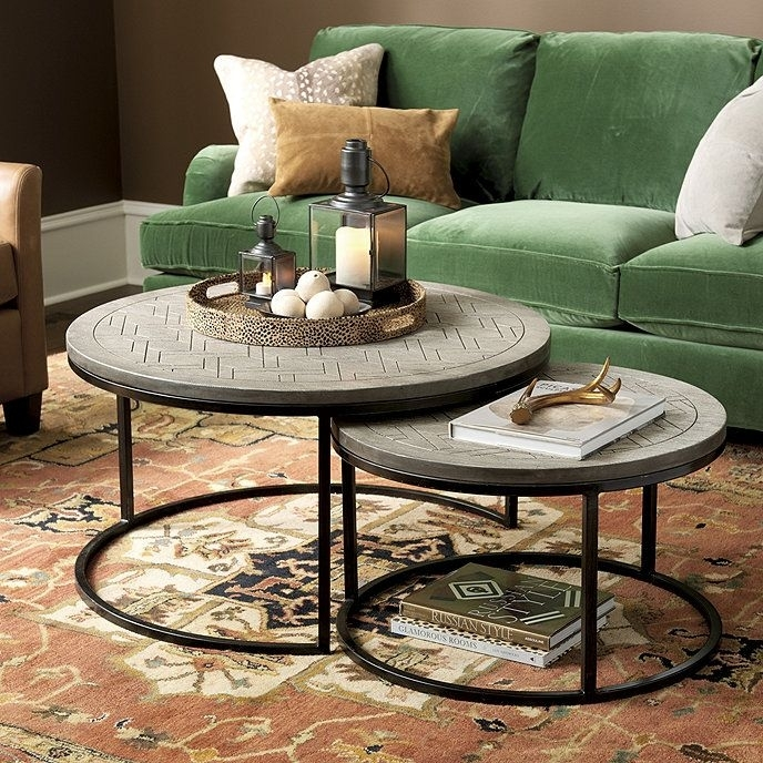 Family Room Coffee Tables (9 Images) – Xuyuan Tables For Baybrin Cocktail Tables (Image 23 of 40)