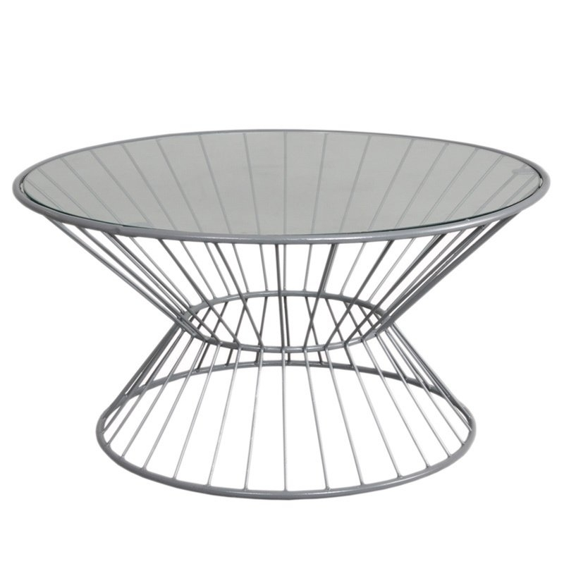Fashion N You Wire Coffee Table & Reviews | Wayfair In Black Wire Coffee Tables (Image 21 of 40)