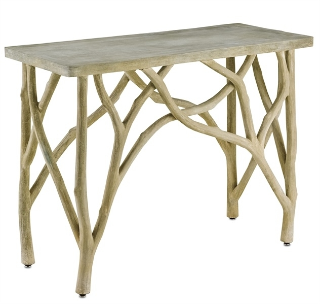 Faux Bois Furniture Archives – Mecox Gardens Throughout Faux Bois Coffee Tables (View 14 of 40)