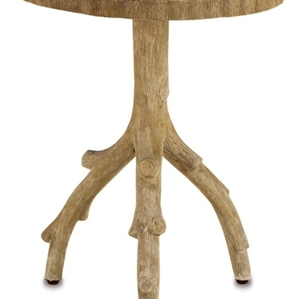 Faux Bois – Redgrove Table : Currey And Company : Pro Material Regarding Faux Bois Coffee Tables (View 33 of 40)
