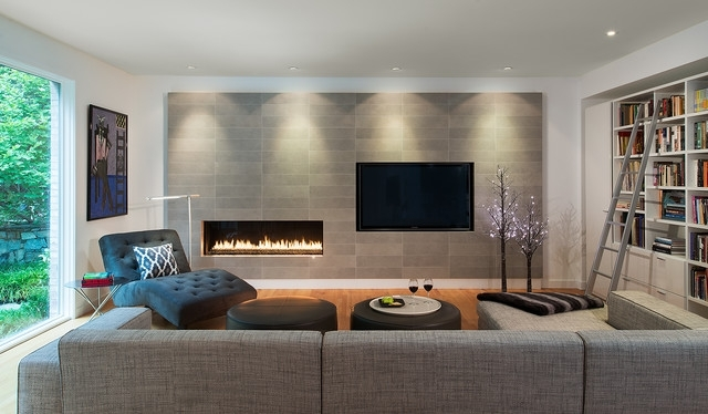 First Floor Remodel – Potomac, Md – Contemporary – Living Room – Dc In Potomac Adjustable Coffee Tables (Image 20 of 40)