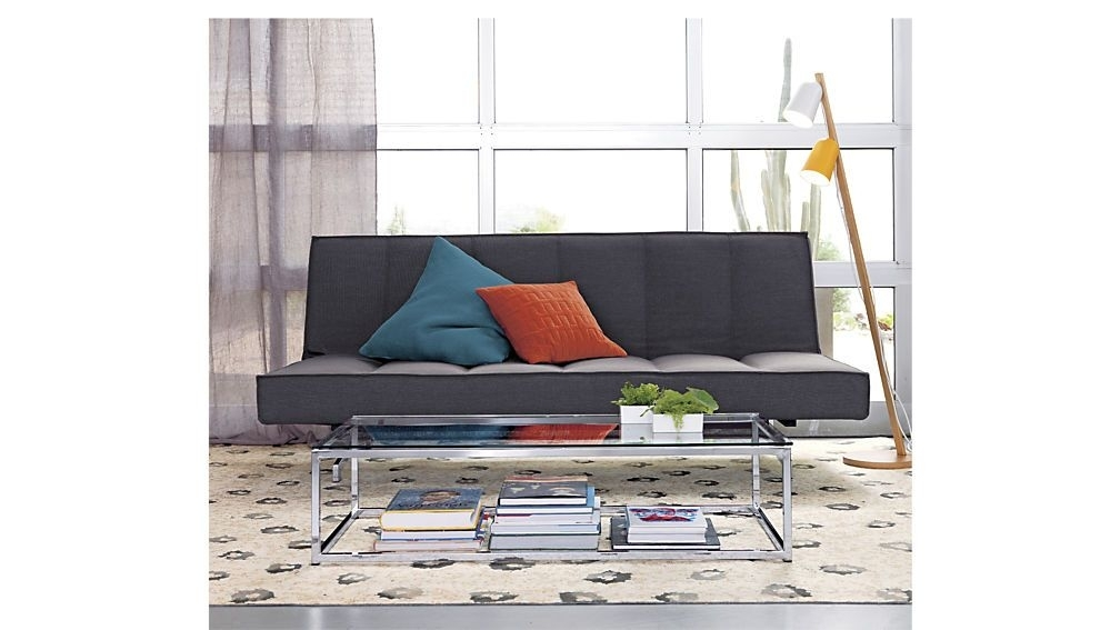 Flex Gravel Sleeper Sofa | Family Room | Pinterest | Sleeper Sofas For Smart Glass Top Coffee Tables (View 5 of 40)
