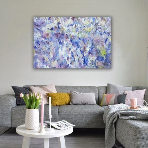 Flowers In The Rain | Thequeenart | Pinterest | Rain Art, Abstract For Expressionist Coffee Tables (View 35 of 40)