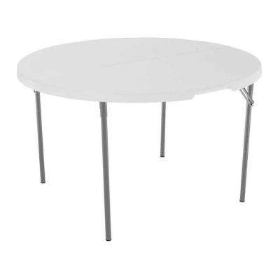 Folding Tables & Chairs – Furniture – The Home Depot Regarding 33 Inch Industrial Round Tables (Image 17 of 40)