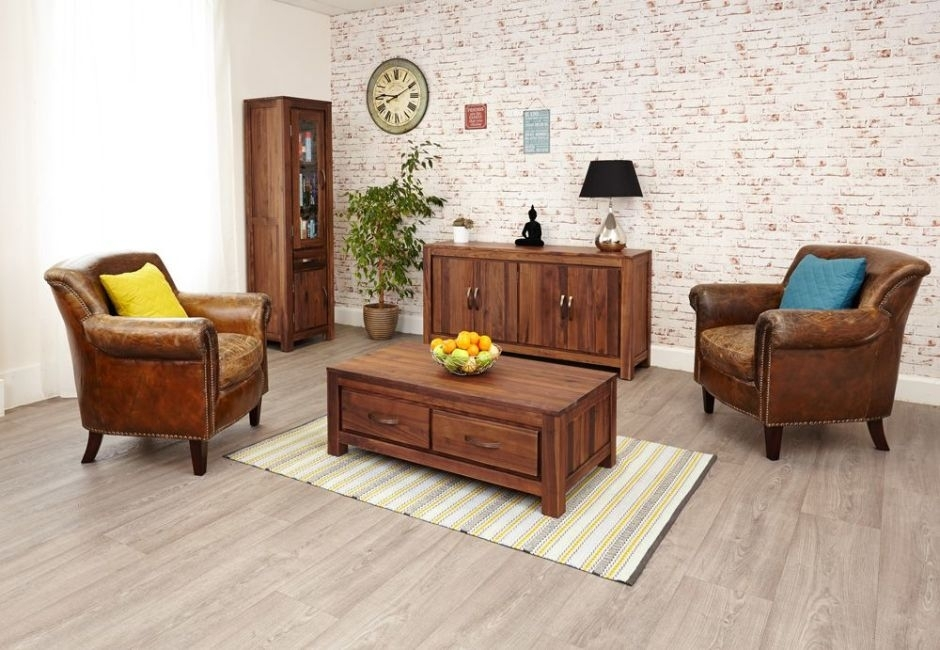 Four Drawer Walnut Coffee Tables – Mayan – Online Reality With Regard To Walnut 4 Drawer Coffee Tables (View 35 of 40)