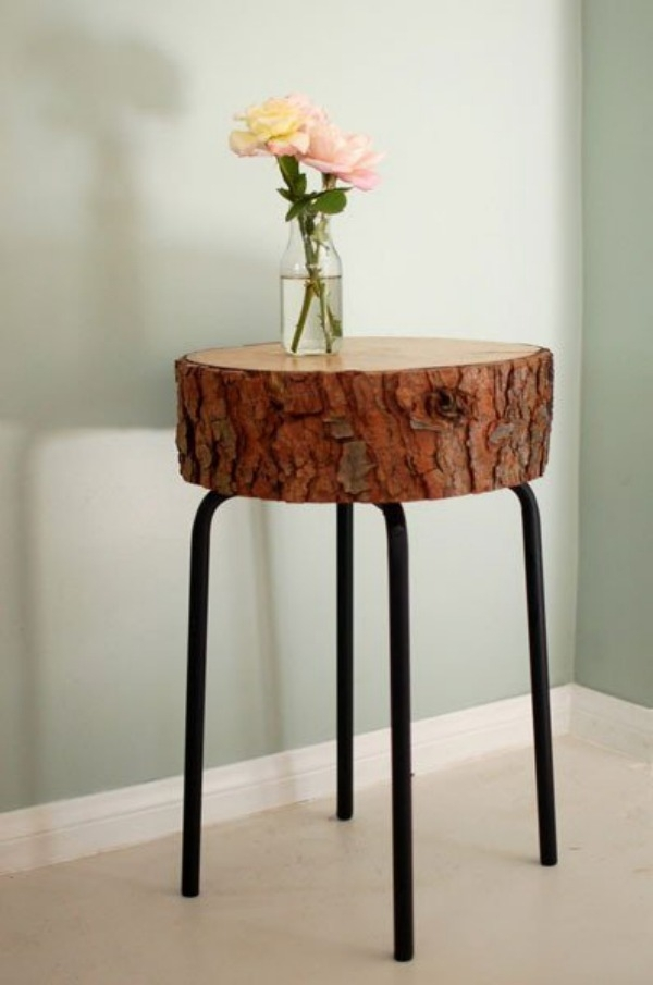 Furnitures : Unique Golden Reclaimed Tree Trunk Coffee Table Near Pertaining To Sliced Trunk Coffee Tables (View 22 of 40)